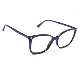 Authentic Gucci Eyeglasses Blue Frame